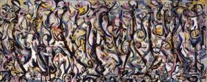 Jackson Pollock_Mural, 1943 97 1:4 x 238 in (247 x 605 cm) Gift of Peggy Guggenheim, 1959.6_Courtesy University of Iowa Muesum of Art