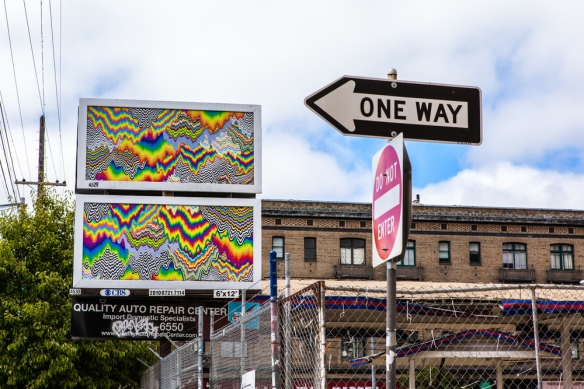 Jen Stark Driptych Art City Way Out West