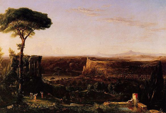 Thomas Cole Italian Scene Composition, 1833