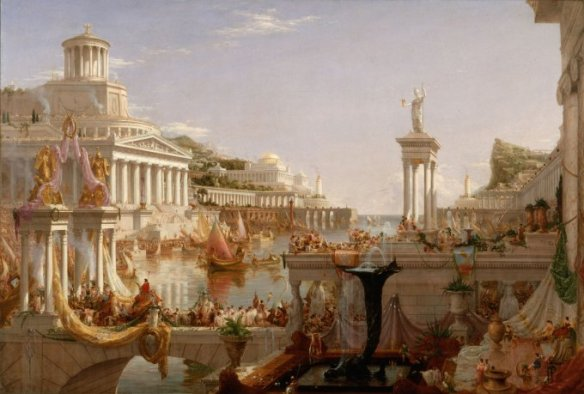 Thomas Cole, The Course of Empire- The Consummation of Empire, 1836