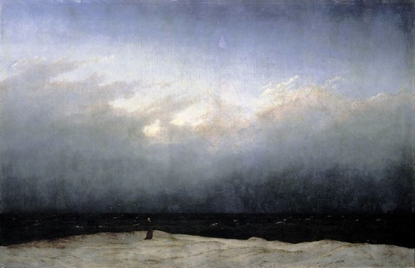 Caspar David Friedrich Monk By the Sea 1808 or 1810